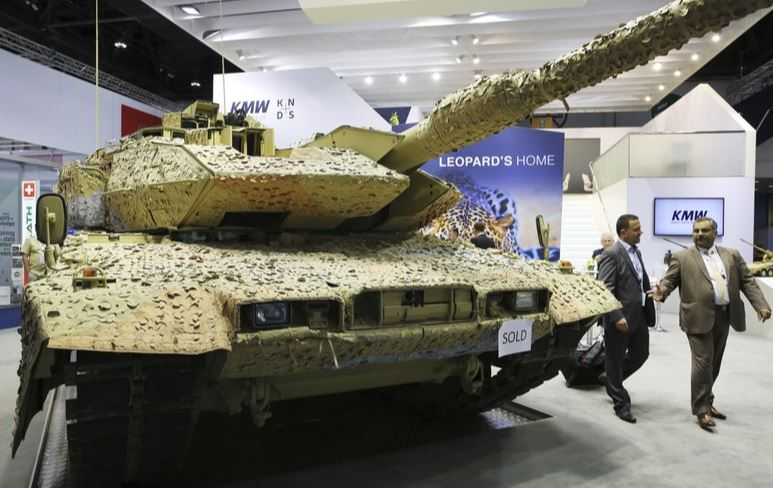 Germany bans arms sales to Turkey