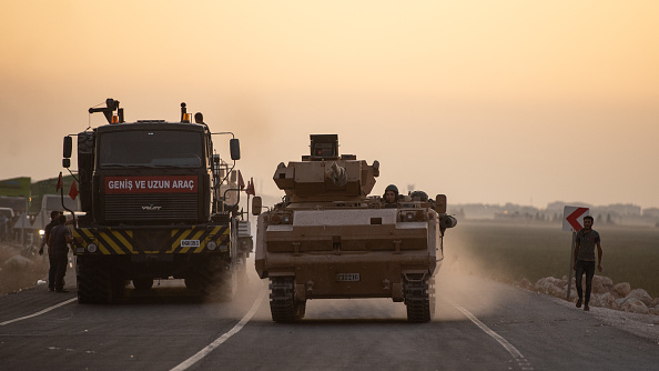 France announces suspension of arms exports to Turkey