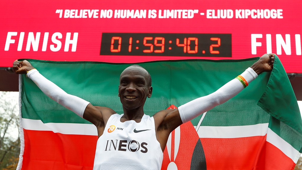 Why does Kenyan runner's feat inspire?