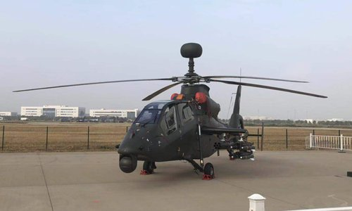 Firm displays upgraded helicopters at Tianjin expo