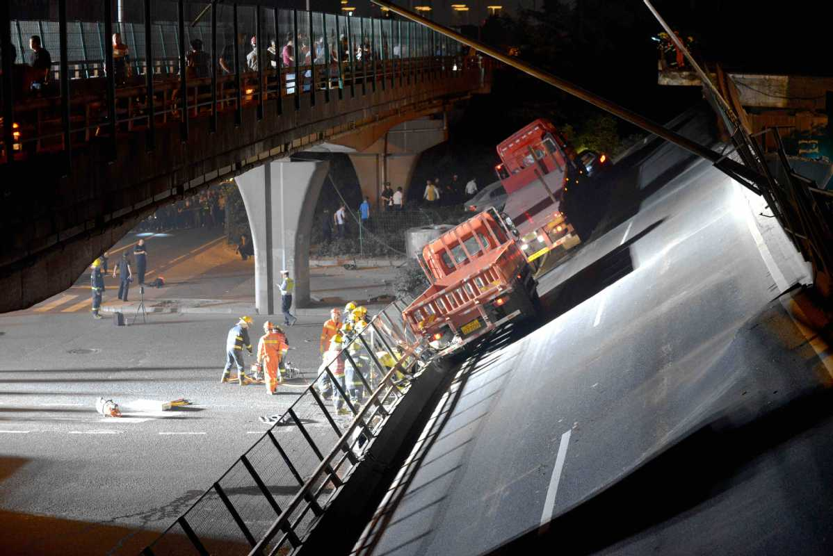 Crackdown on overloaded trucks after deadly collapse