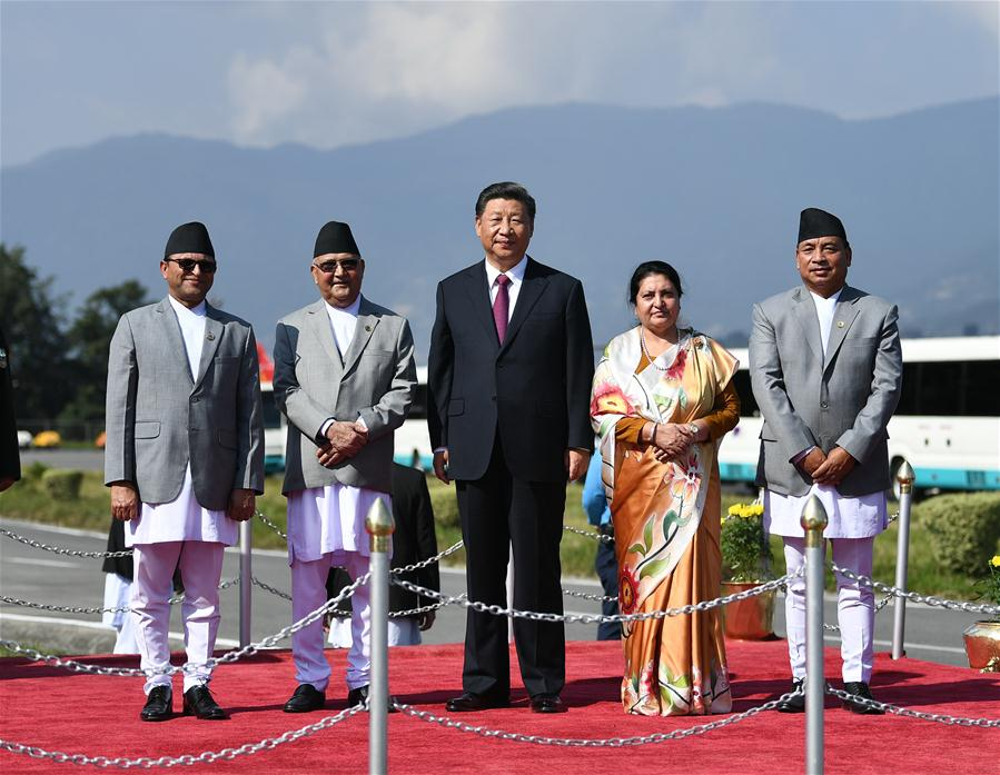 Xi returns to Beijing after informal meeting with Indian PM, visit to Nepal