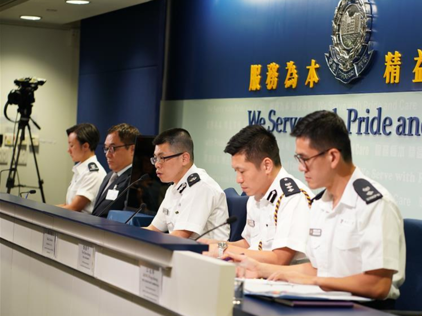HK police reiterate no tolerance for violence