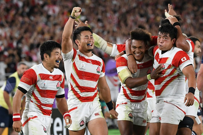 History-makers Japan floor Scots to reach World Cup quarters