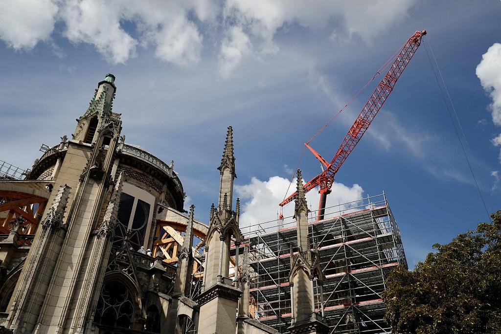 Nearly 1bn euros raised, pledged for Notre-Dame rebuild