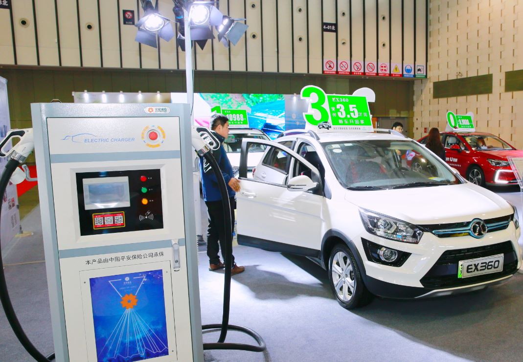 China's NEV sales continue steady growth in Jan-Sept