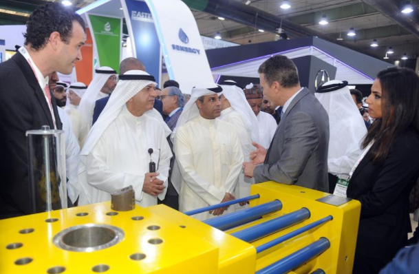 Kuwait Oil and Gas Show held in Hawalli Governorate, Kuwait