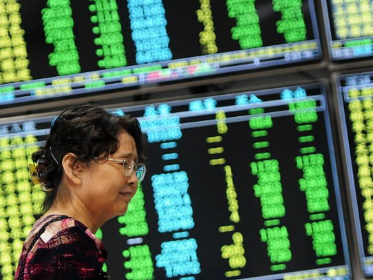 Chinese shares open lower Tuesday