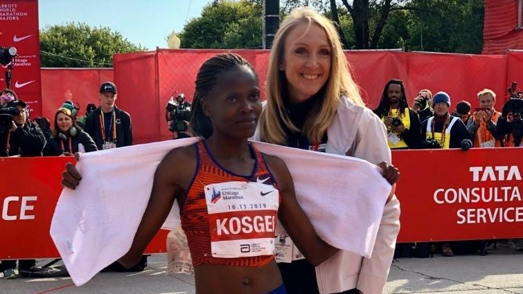 Kenya's Brigid Kosgei smashes women's marathon world record