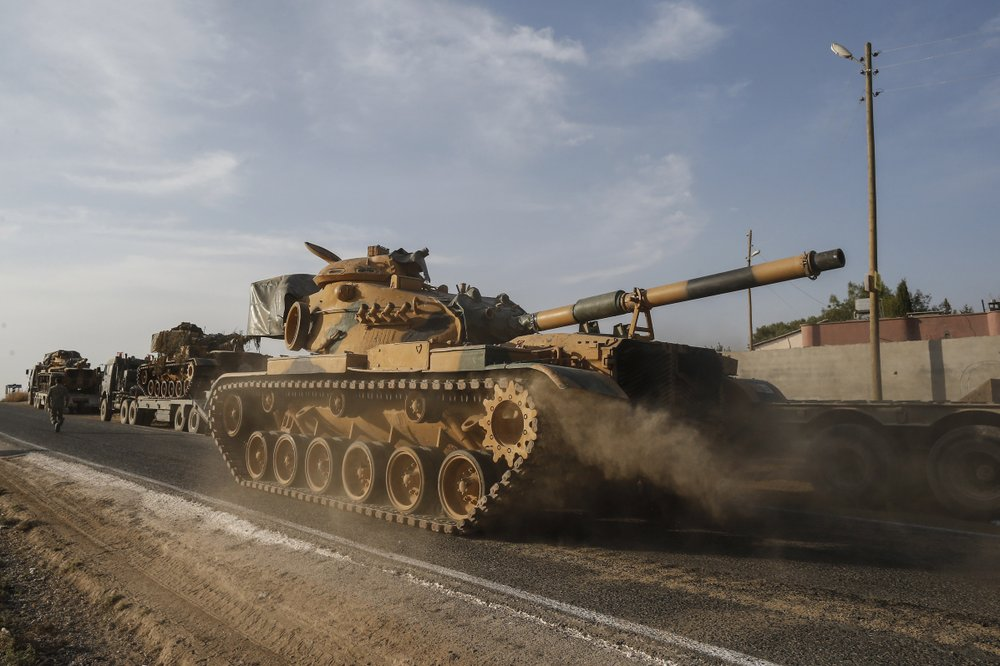 US sanctions Turkish ministries, senior officials over offensive in Syria