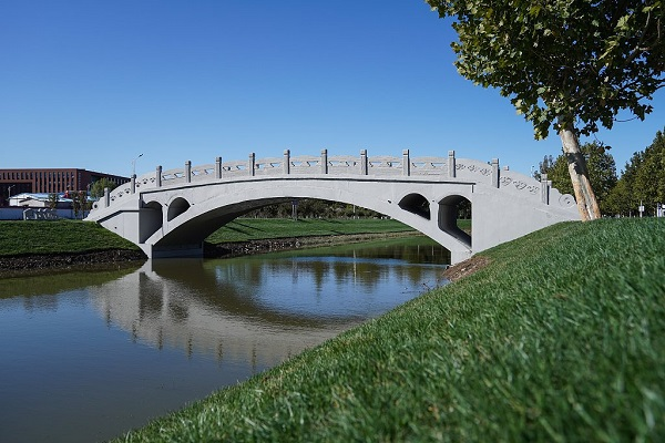 University builds Zhaozhou Bridge with 3D-printing technology in China