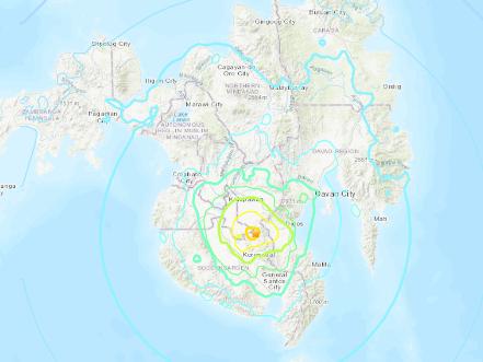 Strong magnitude-6.4 quake hits Philippines' Mindanao: USGS