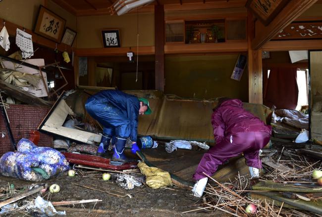 Typhoon Hagibis death toll rises to 74 in Japan