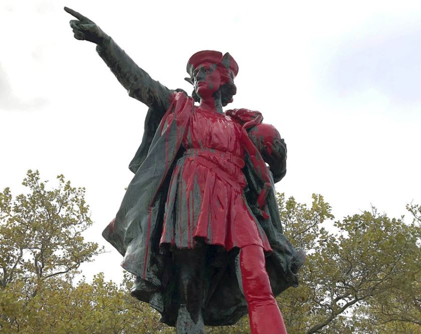 City official: I support vandalism of Columbus statue