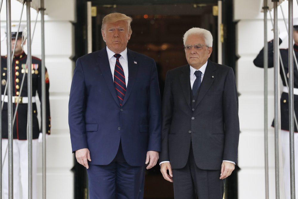 Trump urges Italy's leader to increase defense spending