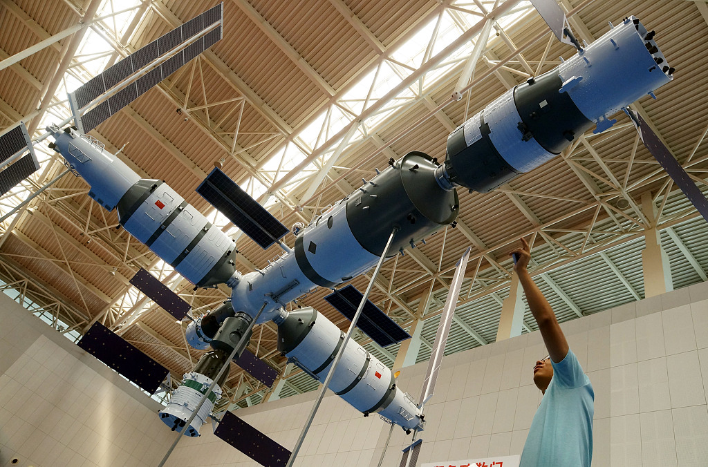 China prepares for space station construction