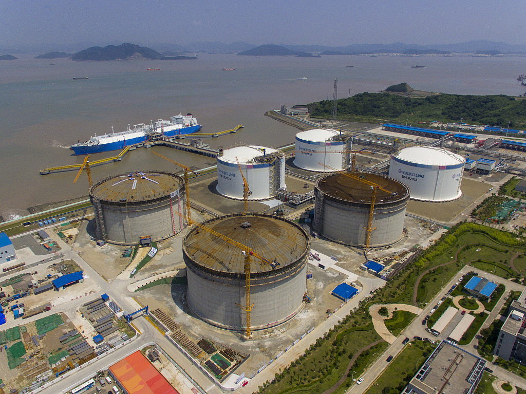 China starts to release liquefied natural gas import price index