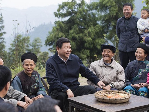 Graphics: Mapping Xi Jinping's poverty alleviation tours