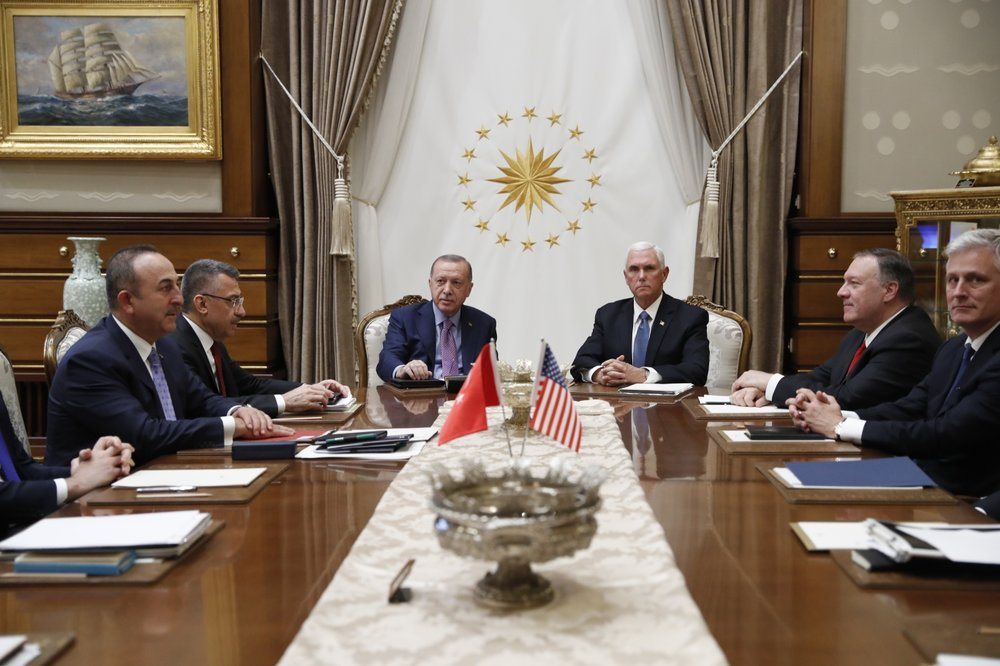 US, Turkey agree to cease-fire in northern Syria