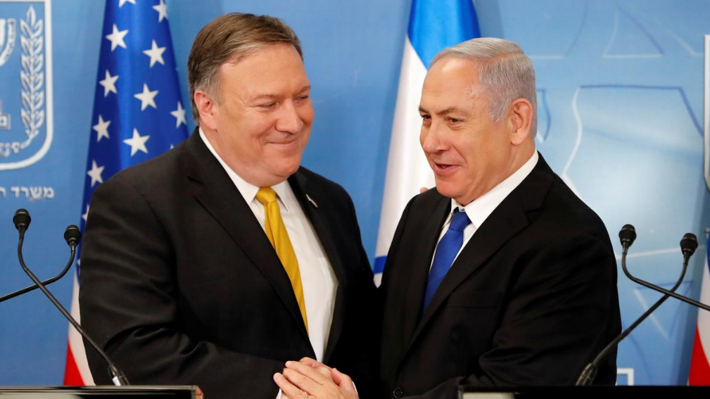 Pompeo discusses Trump Syria moves with Netanyahu