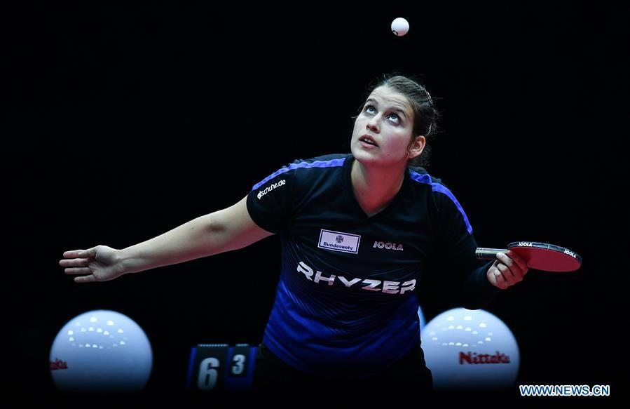 In pics: women's singles quarterfinal match at 2019 ITTF Women's World Cup