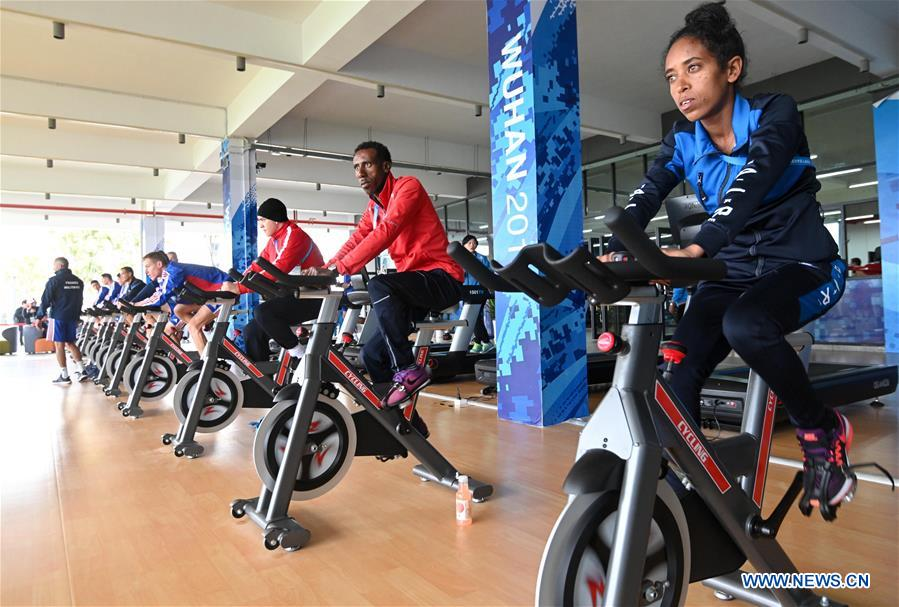 Athletes prepare for 7th CISM Military World Games in Wuhan