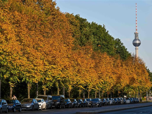Autumn scenery in Germany