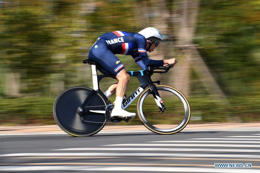Men's individual time trial final of cycling road at Military World Games