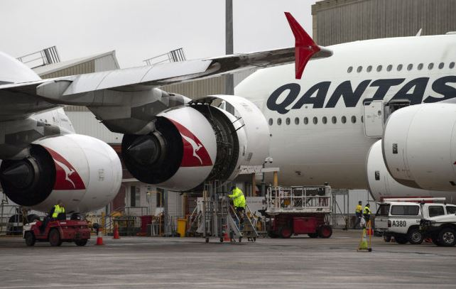 Longest non-stop flight to take off from New York to Sydney