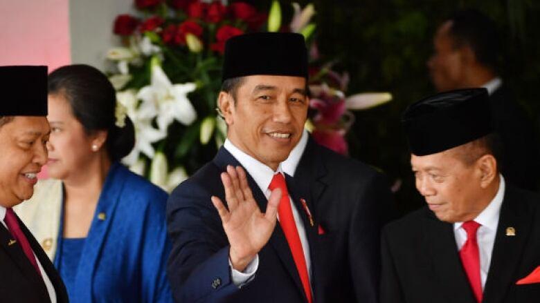 Indonesian President Widodo sworn in for second term