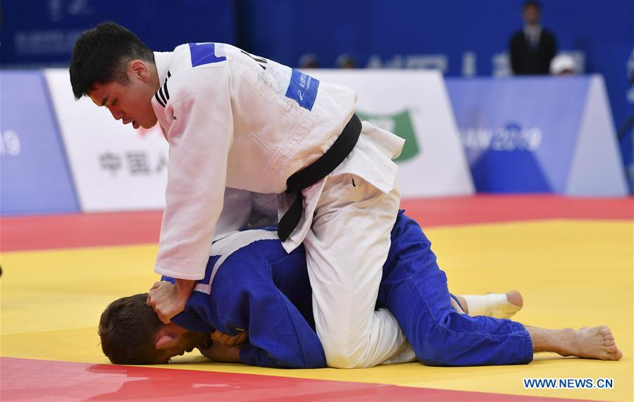 Highlights of judo finals at 7th CISM Military World Games