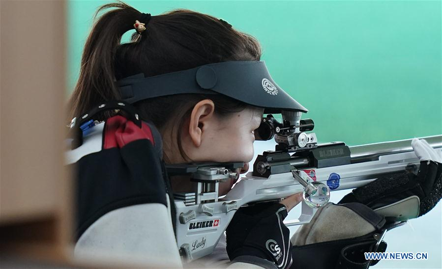 Highlights of women's 50m rifle prone at 7th CISM Military World Games