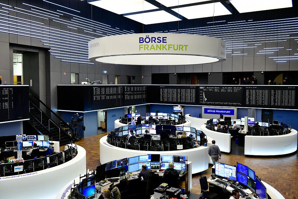 European stocks diverge at open; pound slides