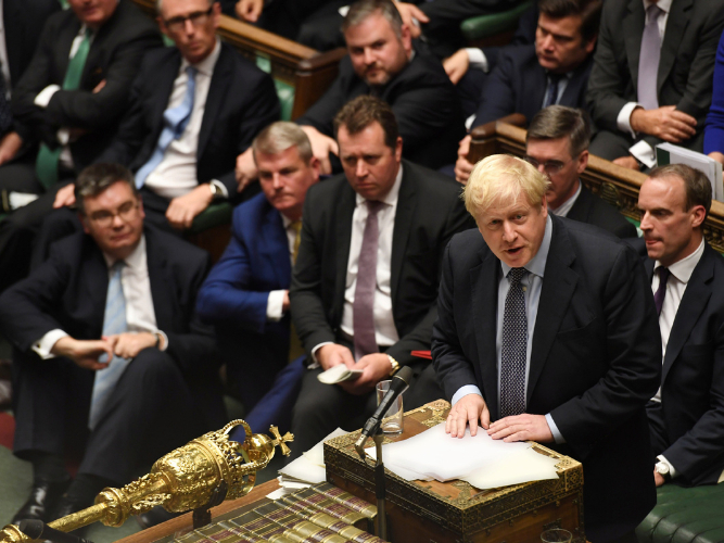 UK government will pull planned vote on Brexit deal if lawmakers try to change it