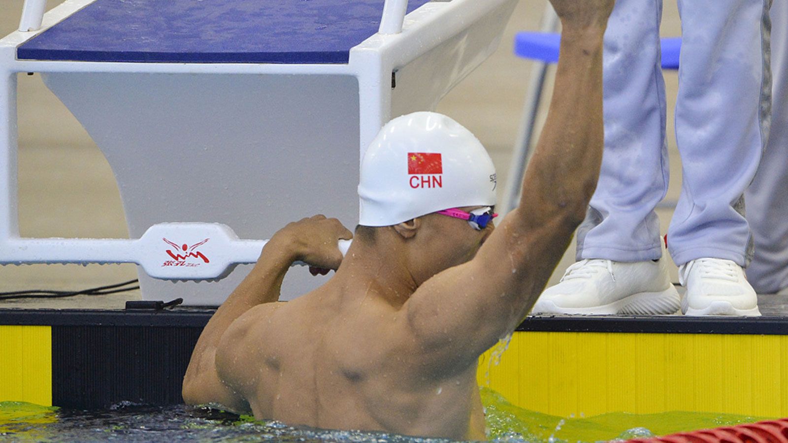 China adds 7 gold medals, sets 5 records in swimming at Military World Games