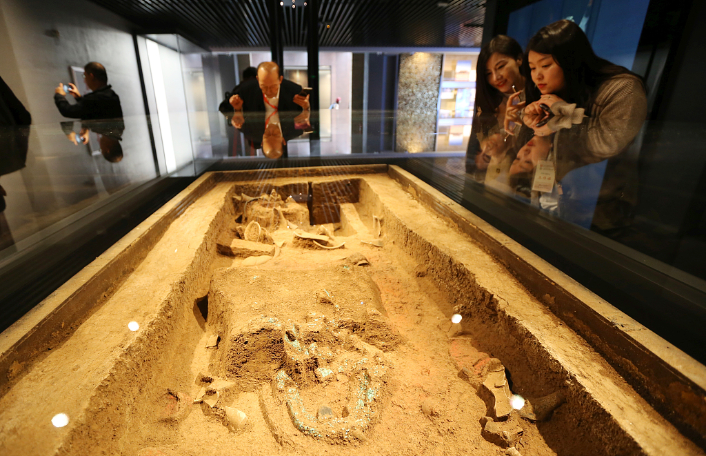Erlitou Relic Museum opens in central China's Henan Province