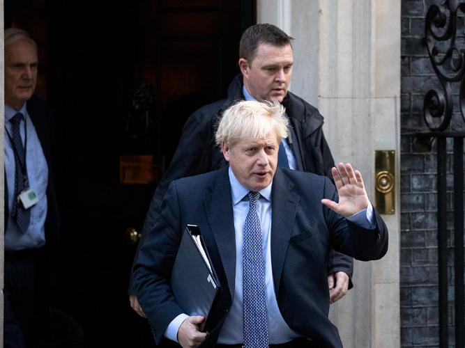 British PM Johnson prepares fresh Brexit push
