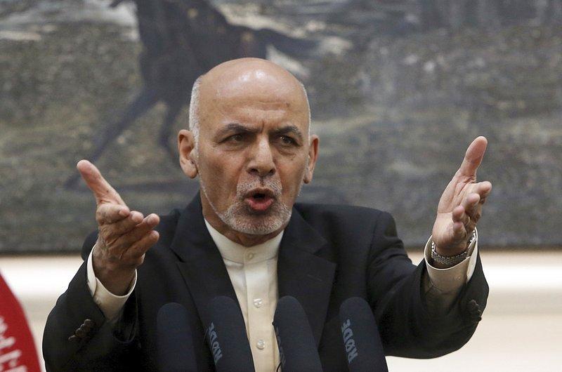 Afghan president meets US house speaker, defense secretary