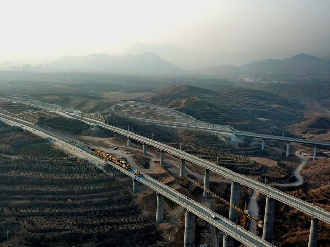 Test run of Chongli Railway to start
