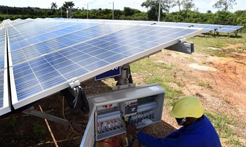 Chinese technology helps Cubans shift to solar energy