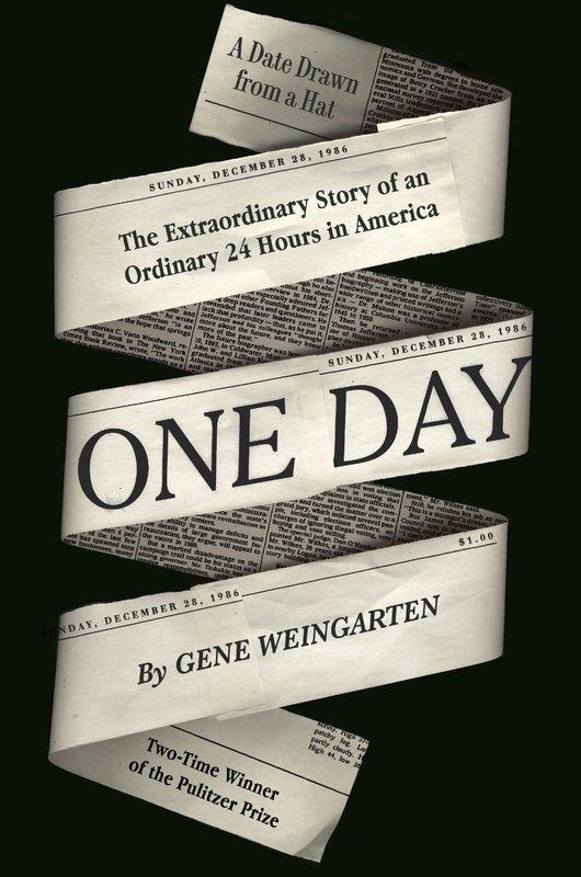 Pulitzer winner Weingarten tells story of 'One Day'