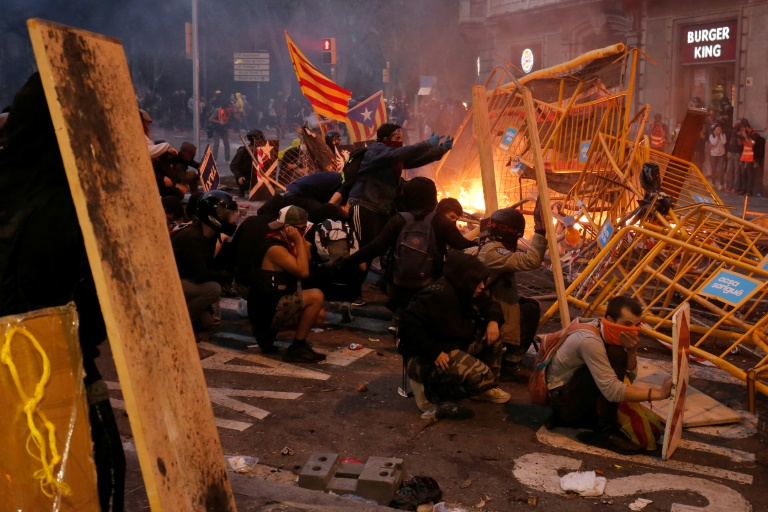 Who are the youths behind the Catalonia protest violence?