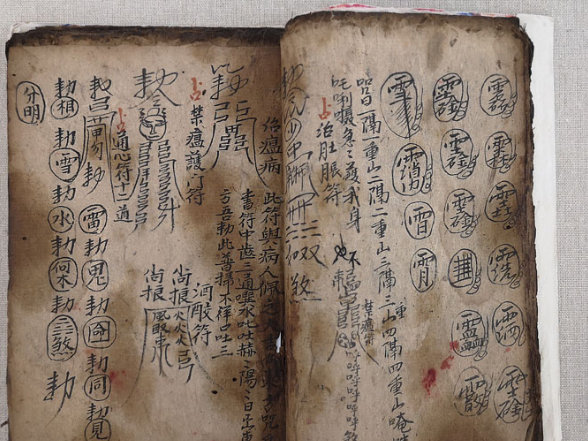 First book of medicine written in ancient Zhuang script exhibited for the first time