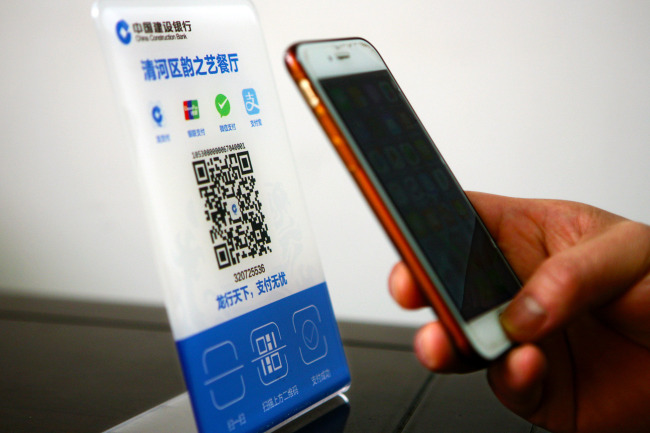 80% of adults in China use mobile payments