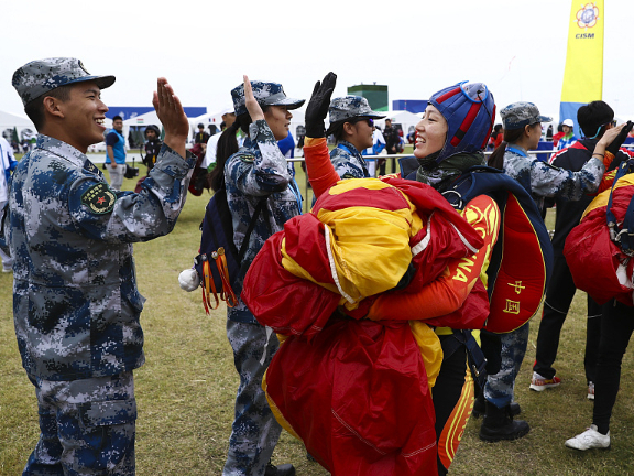Wuhan Military World Games: China remains top of medal standings on Day 4