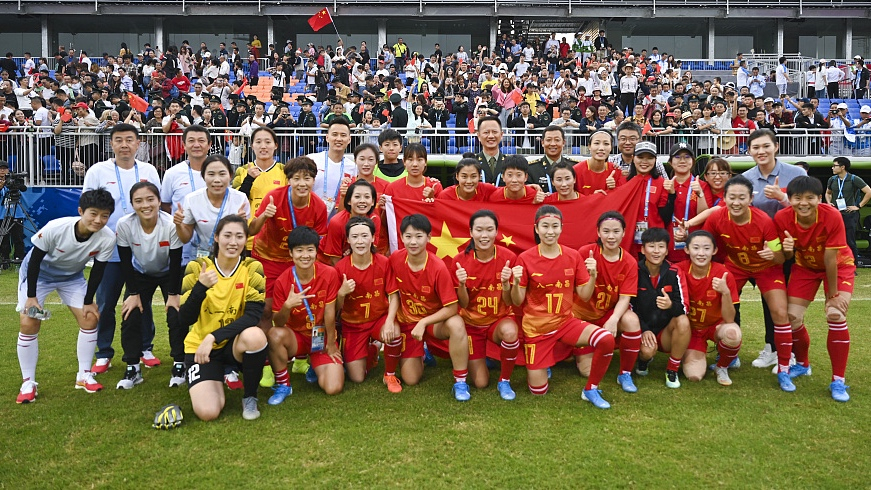 Military World Games: Chinese fans rekindle romance with women's football as capacity crowd packs stadium