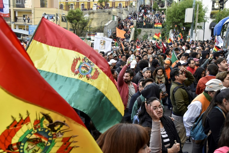 Bolivia braces for general strike after vote chaos