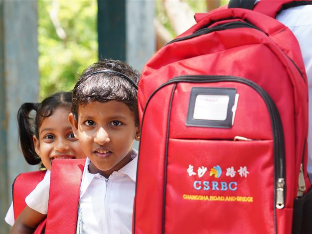 China gifts well-equipped school building to remote Sri Lankan village