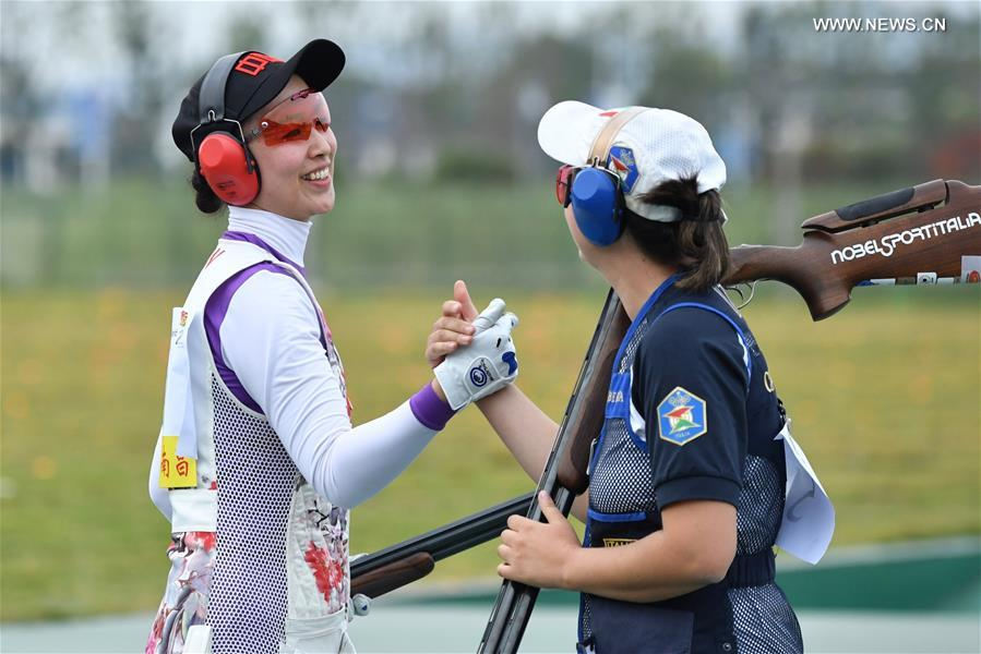 Highlights of women's shooting at 7th CISM Military World Games