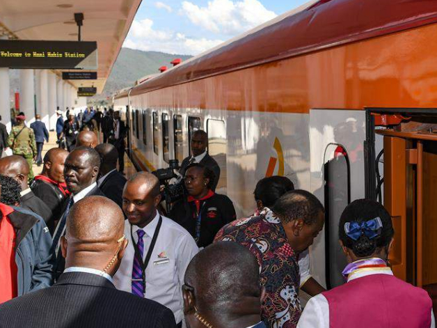 Kenya launches extended railway to boost rural economy